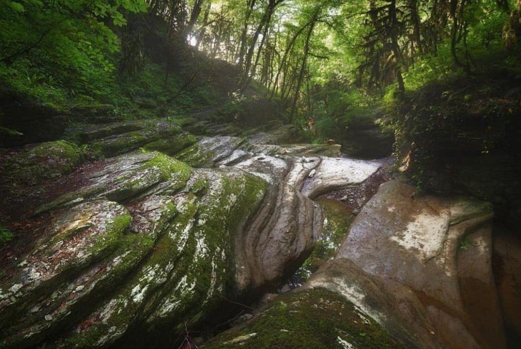 Поход Ахштырское ущелье